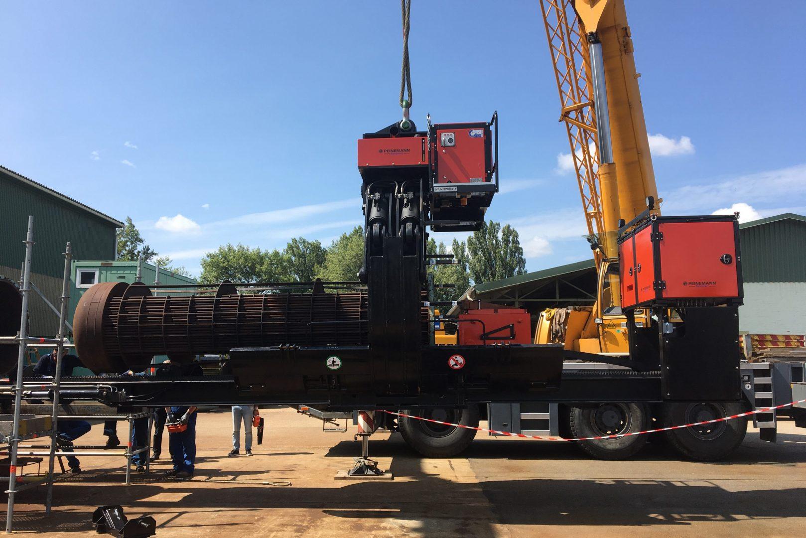 Kombi csőköteg kihúzó Combi bundle extractor