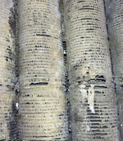 calcium stick finned tube
