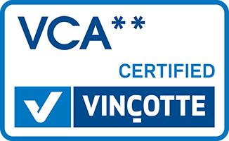 VCA** / SCC** certificate